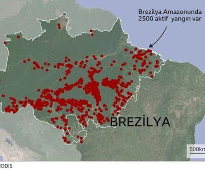 Brezilya lideri 'yaptırım' çağrıları sonrası orduyu devreye sokuyor