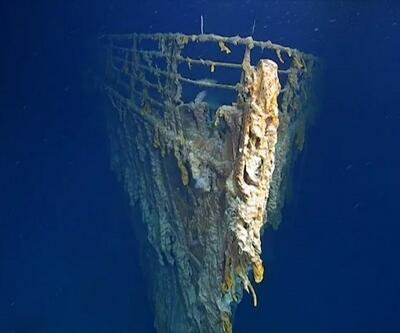 14 yıl sonra yeni görüntü: Batmaz denilen Titanik çürüyor