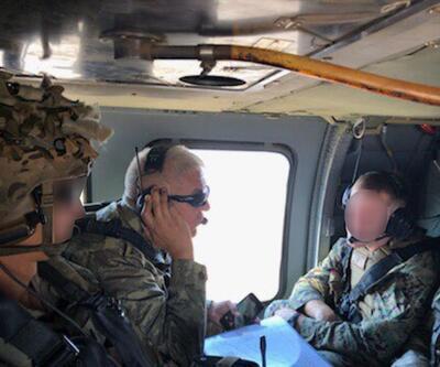 Fırat'ın doğusunda ilk ortak helikopter uçuşu
