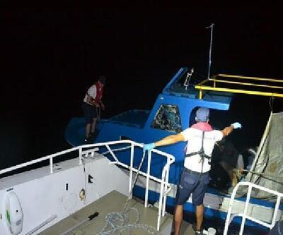 Dikili açıklarından 73 kaçak göçmen yakalandı