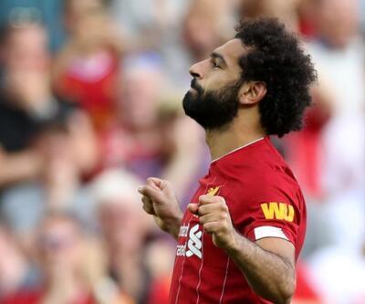 Salah 2 gol attı Liverpool kazandı