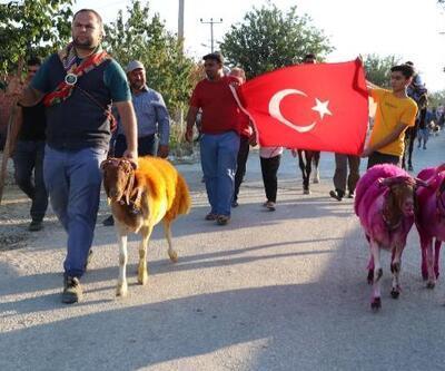 Denizli'de asırlık gelenek öncesi temsili Yörük göçü
