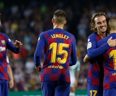 Barcelona'dan Real Betis'e 5 gol