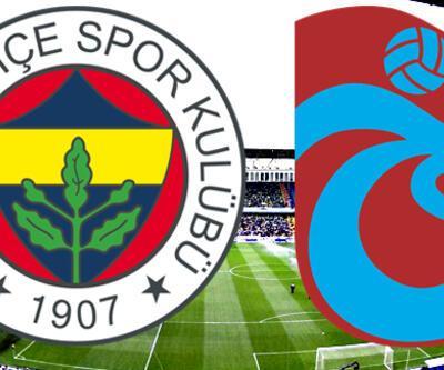 Fenerbahçe Trabzonspor maçı ne zaman, derbi saat kaçta?
