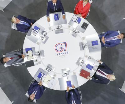 G7 zirvesine bu anlar damga vurdu