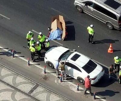 Otomobil çarpan Özbek kadın öldü