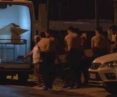 Ümraniye'de öldürülenlerin ve intihar eden kişinin cenazeleri morga kaldırıldı
