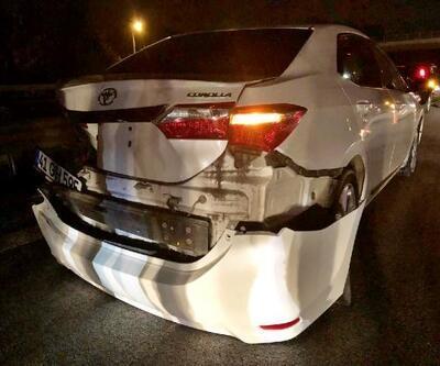 Sapanca'da zincirleme trafik kazası: 2 yaralı