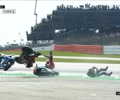 MotoGP korku dolu anlar