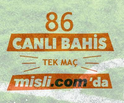 İlk hafta iddaa'da 86 TEK MAÇ ve CANLI BAHİS Misli.com'da!