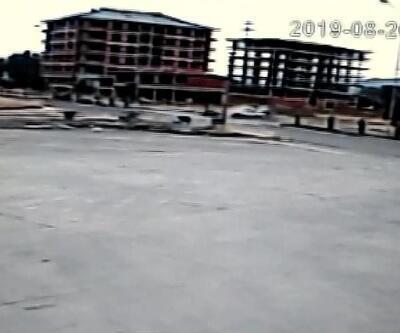 Antrenman yolunda Enes'in öldüğü, annesinin yaralandığı kaza kamerada