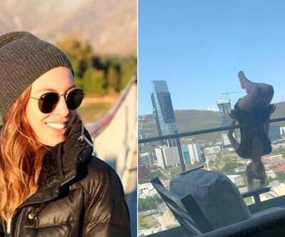 Korkunç kaza: Yoga yaparken balkondan uçtu