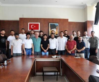 Sorgun Belediyespor'da toplu imza töreni