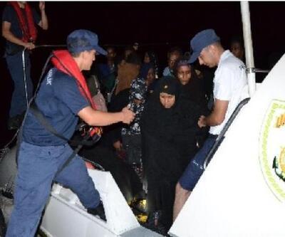Karaburun'da 39 kaçak göçmen yakalandı