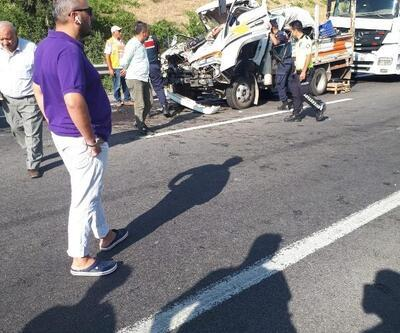 Adana'da zincirleme kaza: 1 ölü, 2 yaralı