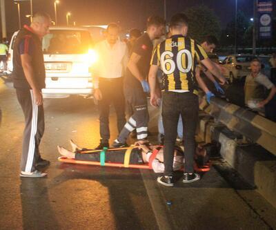 E-5'te zincirleme trafik kazası: 1'i ağır 3 yaralı