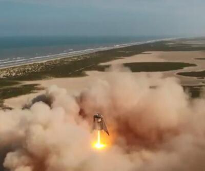 Uzaya yolculukta önemli adım: Test başarıyla gerçekleştirildi, Starhopper 150 metre yüksekliğe çıktı