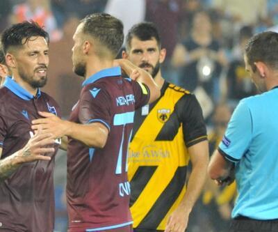 Trabzonspor 0-2 AEK MAÇ ÖZETİ