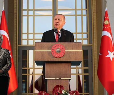 Cumhurbaşkanı Erdoğan: Teröristleri hallaç pamuğu gibi atıyoruz