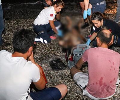Antalya'da denize giren genç boğuldu! Arkadaşları yıkıldı