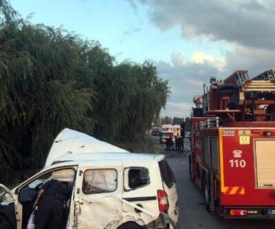 Bünyan'da kaza: 3 yaralı