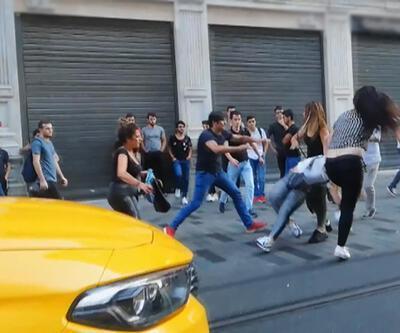 Taksim'de meydan savaşı çıktı