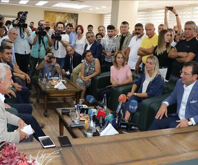 İmamoğlu Diyarbakır'da Türk ve Mızraklı ile görüştü