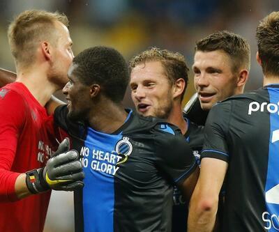 Club Brugge sahasında puan kaybetti