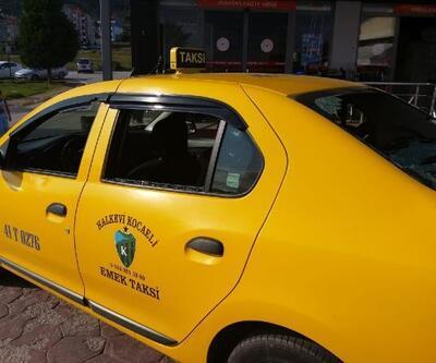 Kocaeli'de taksiciyi bıçak ve palalarla gasbetmeye çalıştılar