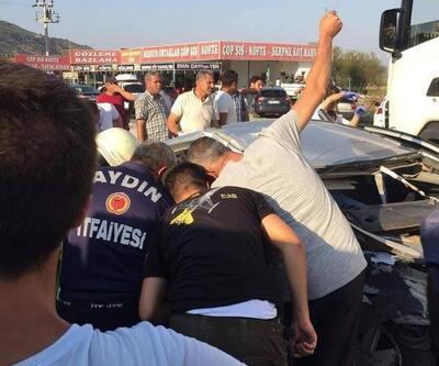 Aydın'da zincirleme kaza: 1'i ağır 8 yaralı