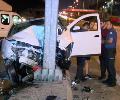 Maltepe ve Üsküdar'da trafik kazaları!