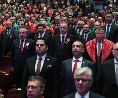 Adli Yıl Açılış Töreni'nde Feyzioğlu ve Cirit'ten önemli açıklamalar