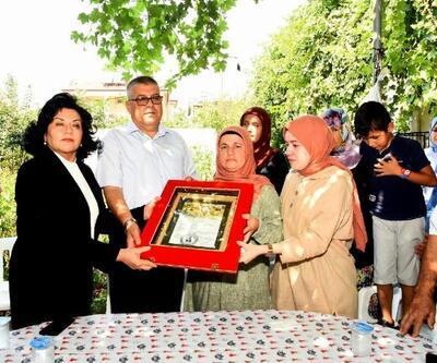 Şehit Üsteğmen Kargın'ın ailesine şehadet belgesi