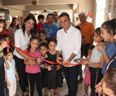 Nusaybin'de çocuklardan resim sergisi