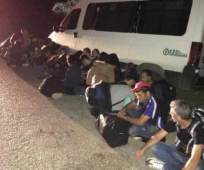 Çanakkale'de 48 kaçak göçmen yakalandı