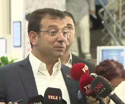 İmamoğlu'ndan kayyım ve Diyarbakır ziyareti sorularına cevap