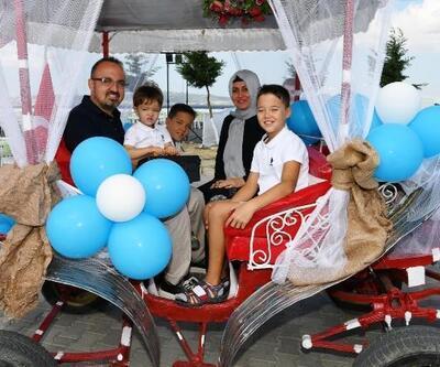 AK Parti'li Turan'ın mutlu günü
