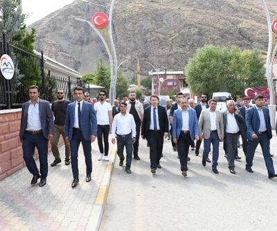 AK Partili vekiller, muhtarlarla toplantı yaptı