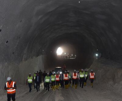 Ve ışık göründü! Tam 1230 metre uzunluğunda...