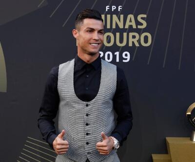Portekiz'de yılın futbolcusu Ronaldo