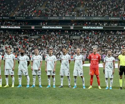 Beşiktaş UEFA Avrupa Ligi kadrosunu açıkladı