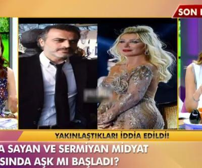 Seda Sayan'dan Sermiyan Midyat'la aşk iddiasına ilk açıklama