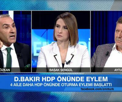 Stüdyoda gerilim yükseldi: PKK'yı bize övmeyin!
