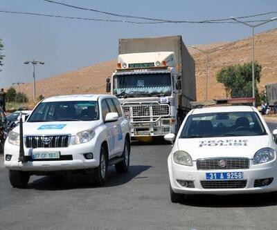 BM'den İdlib'e 36 TIR insani yardım