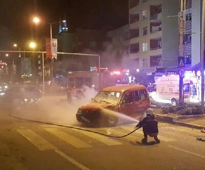 Polisin 'dur' ihtarına uymadı, kaza yaptı: 2'si çocuk 5 yaralı