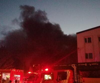 Son dakika... İstanbul'da fabrika yangını