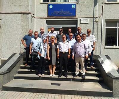 Erdek'teki muhtarlar yeni jandarma komutanını ziyaret etti