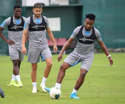 Trabzonspor, kuvvet çalıştı