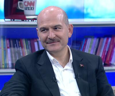 Haberler... İçişleri Bakanı Süleyman Soylu CNN TÜRK'te