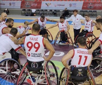 Türkiye Tekerlekli Sandalye Basketbol Milli Takımı bronz madalya kazandı